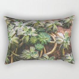 Botanical Gardens - Succulent #882 Rectangular Pillow