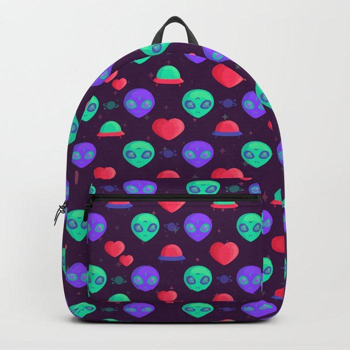 Kawaii Aliens Backpack