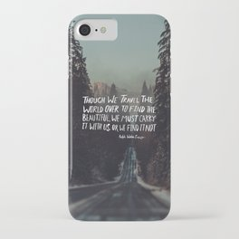 Road Trip Emerson iPhone Case
