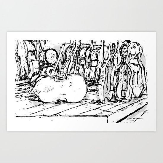 Hello Cello Art Print