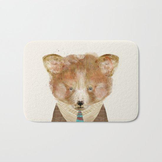 little red panda Bath Mat