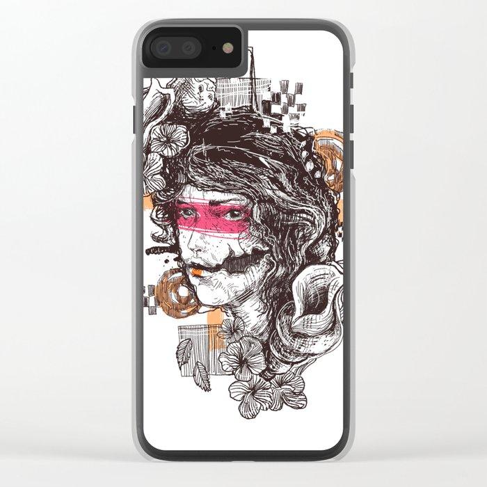 lookbroken Clear iPhone Case