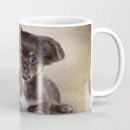 Drawing Puppy Chihuahua Coffee Mug