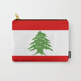 lebanon country flag tree Carry-All Pouch