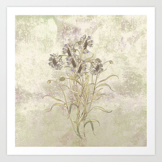 The flowers are singing Art Print