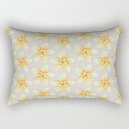 Yellow Flower, Floral Pattern, Yellow Blossom Rectangular Pillow