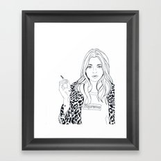 Kate M. X Supreme Framed Art Print