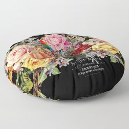 Nuit des Roses 2020 (is it over yet?) Floor Pillow