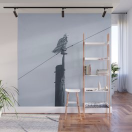 Quand le hibou chante Wall Mural