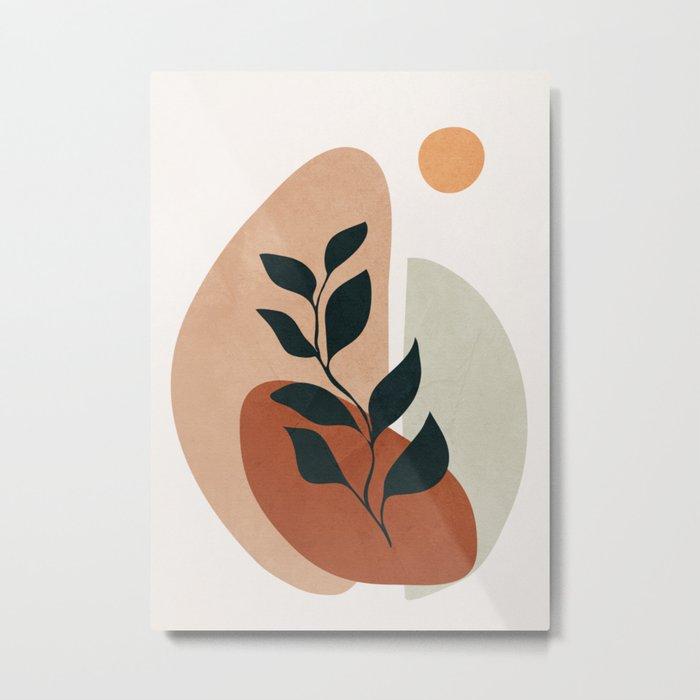 Soft Shapes II Metal Print