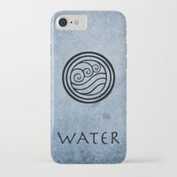 airbender iPhone & iPod Cases featuring Avatar Last Airbender - Water by bdubzgear