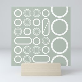 LIGHT FORMATION 03 Mini Art Print