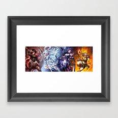 RWBY Framed Art Print