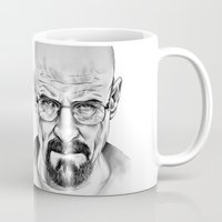 walter white Mugs featuring Walter White by 13 Styx