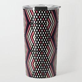 Zigzag pattern 2 Travel Mug