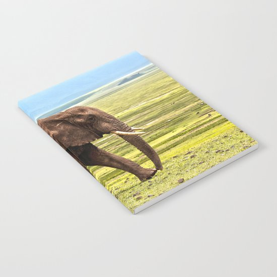 Elephant Safari Notebook