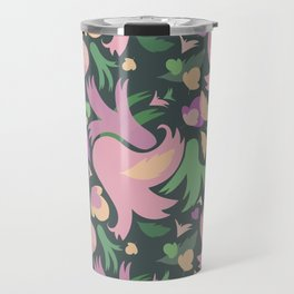 The powerful and pink spring is coming Travel Mug