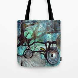 Joining The Dots Tote Bag