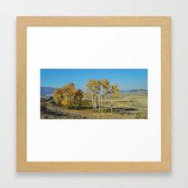Bison Herd, Lamar Valley, Yellowstone Framed Art Print