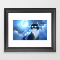 Made of moon Framed Art Print