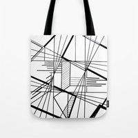kaleidoscope Tote Bags featuring Kaleidoscope  by Chris Klemens