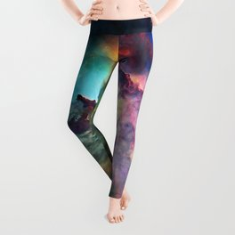 Lagoon Nebula Leggings