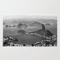 rio de janeiro Area & Throw Rugs featuring Rio De Janeiro by ricardoaguiar