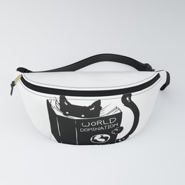 World domination - for cats Fanny Pack