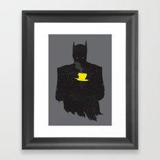 baTEAman Framed Art Print