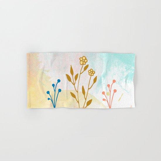 Acuarela flower Hand & Bath Towel