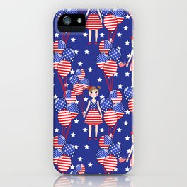 4th July iPhone Case