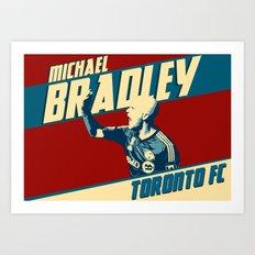 Michael Bradley Art Print