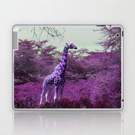 Wild Giraffe in Pink Laptop & iPad Skin
