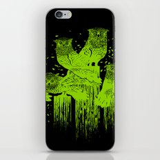 Night Owls iPhone & iPod Skin