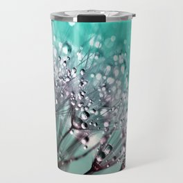 Dandelion Blue Diamonds Travel Mug