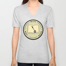 Write - Think - Edit Unisex V-Neck
