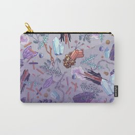 violet mountain dreams Carry-All Pouch