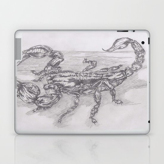 emperor scorpion Laptop & iPad Skin