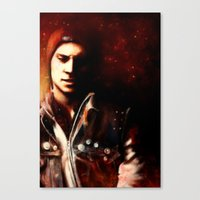 infamous Canvas Prints featuring InFAMOUS: Second Son by Kate Dunn