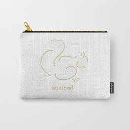 Squirell Carry-All Pouch