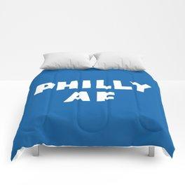 Philly AF (Blue) Comforters