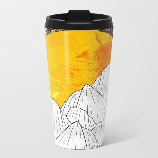 Cosmos Mounts Metal Travel Mug