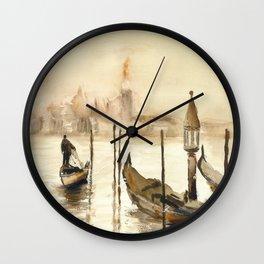 Venice - KargacinArt Wall Clock