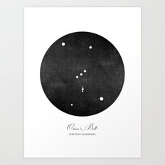 Orion's Belt Art Print Art Print