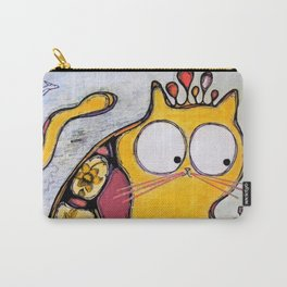 Funny cat in Moscow Carry-All Pouch