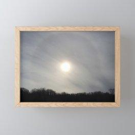 Chemtrail Corona Framed Mini Art Print