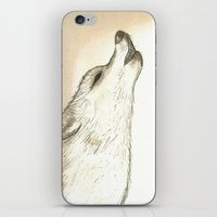 howl iPhone & iPod Skins featuring Howl by Lindzey42