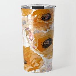 California Poppy Travel Mug