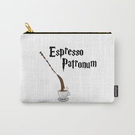Espresso Patronum design Carry-All Pouch