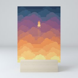 Clouds Mini Art Print